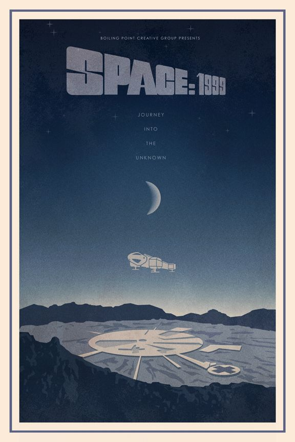 El Segundo, California-based Boiling Point Creative Group has just released a new series of posters that re-imagine 70s and 80s sci fi films in a style inspired by art deco.