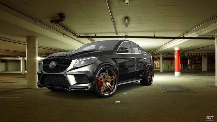 Checkout my tuning #Mercedes #GLE 2016 at 3DTuning #3dtuning #tuning