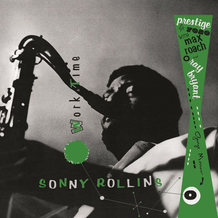 Sonny Rollins; Ray Bryant; George Morrow; Max Roach, Worktime (Rudy Van Gelder Remaster) in High-Resolution Audio - ProStudioMasters