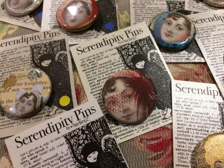 Sassy Jane Austen pins by Serendipity