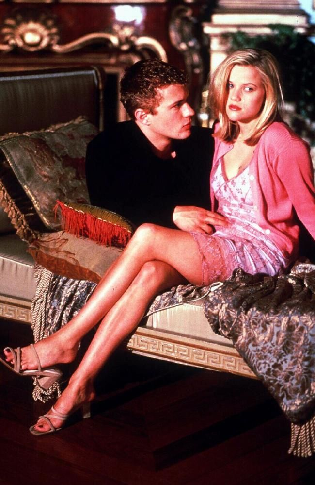 Reese Witherspoon and Ryan Phillippe cruel intentions