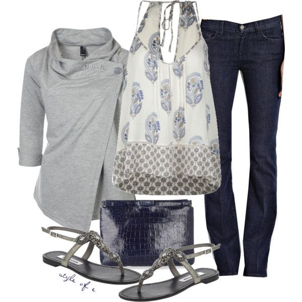 """""""For a Cool Summer Night"""" by styleofe on Polyvore"""