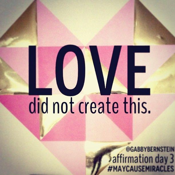 affirmation day 3 @Gabby Meriles Bernstein #maycausemiracles #gratitude #gabbybernstein