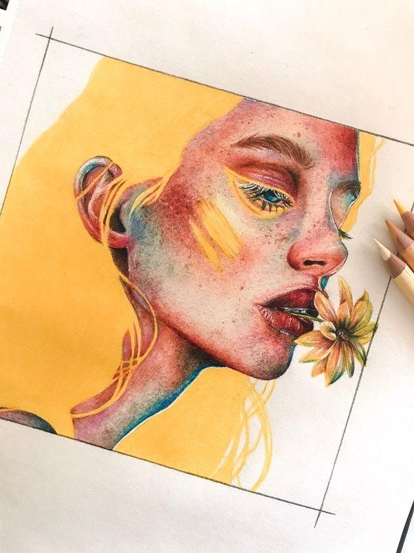 Samira Felice – eine 14-jährige aufstrebende Künstlerin / Illustratorin