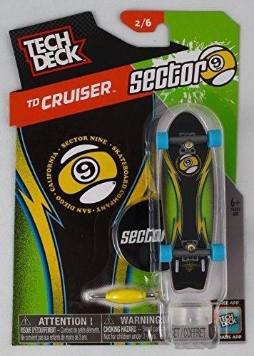 TD Cruiser Sector Nine 2/6 Finger board with Blue Wheels  | eBay