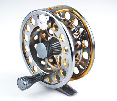 Hot Sale 1pcs ZF40 Double color Aminum Die casting CNC Fly Fishing reels