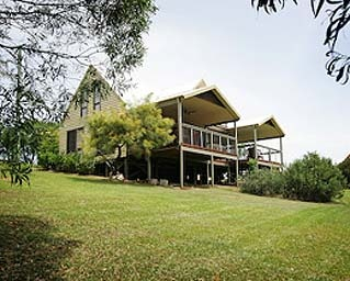 NSW - Possum Brush via Taree  Clarendon Forest Retreat: private spa pools, dreamy cottages, Gothic style chapel