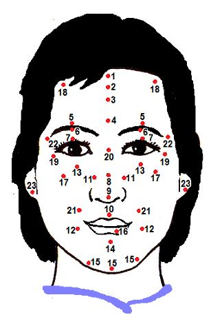 Chinese Facial Mole and Body Mole Reading - interesting interpretation of your freckles (moles, specifically).  From ChineseFortuneCalendar.com