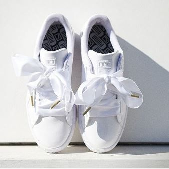 Puma Basket Heart: As novas sapatilhas da marca PUMA estão a chegar e vão revolucionar a moda das sapatilhas Basket com um toque feminino e 'doce'.