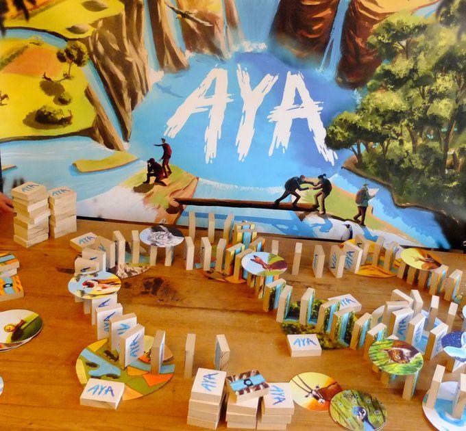 Giant version of Aya 1