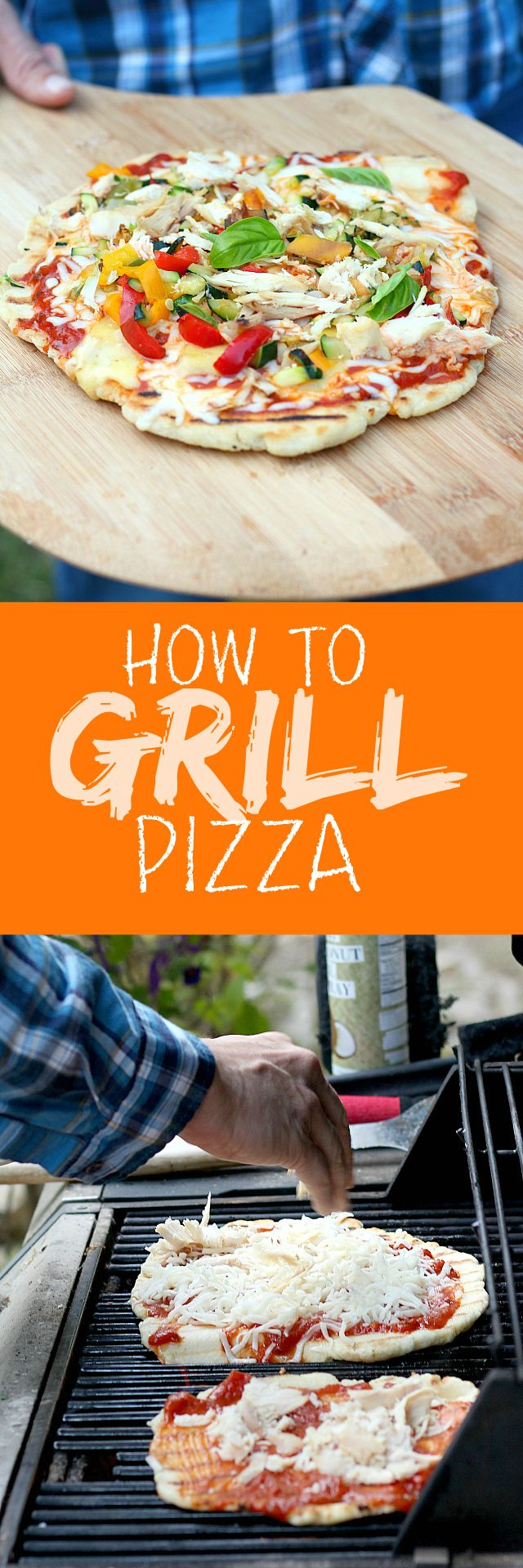 How to make the most Excellent Grilled Pizza! Less than 10 minutes to grill for a crispy thin crust.