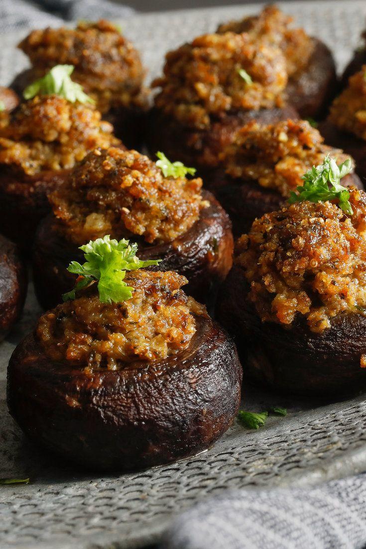 Stuffed Mushrooms – NYT Cooking   – Recipes