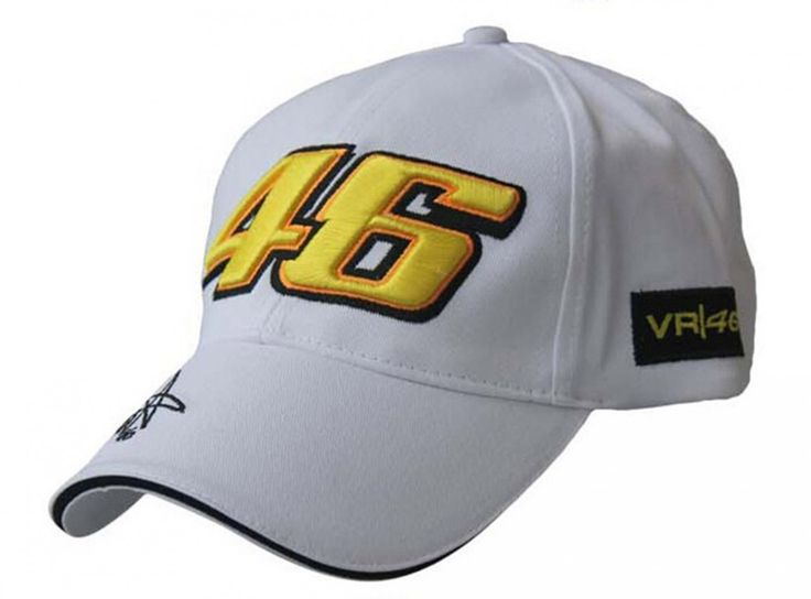New+Design+2+Cap+Motocycle+Racing+MOTO+GP+VR+46+Rossi+Embroidery+Sport+Trucker+Baseball+Cap+Hat