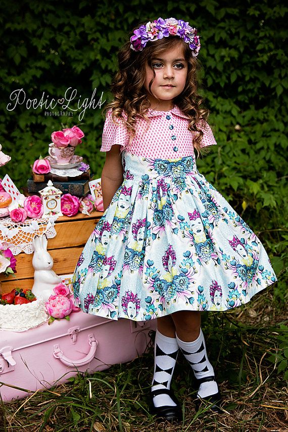 Alyss Party Dress by Ainslee Fox Boutique Sewing by ainsleefox