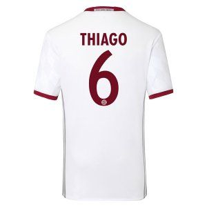 16-17 FC Bayern Munich Third Cheap THIAGO #6 Replica Jersey [G300]