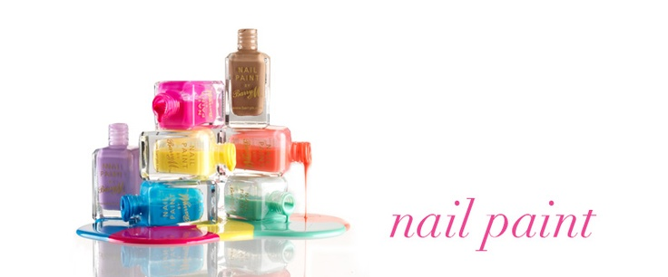 Attending a bright coloured party this season, or maybe you are throwing one.  Don't forget to colour your nails with bright coloured nail paint from Barry M.  Get your nails talking as we'll as the party decor!
