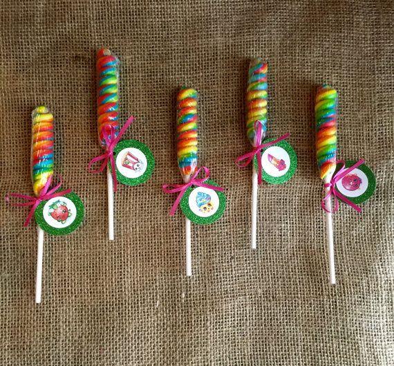 Lollipop Shopkins Twist  Favor de la fiesta  por MyPartyElements