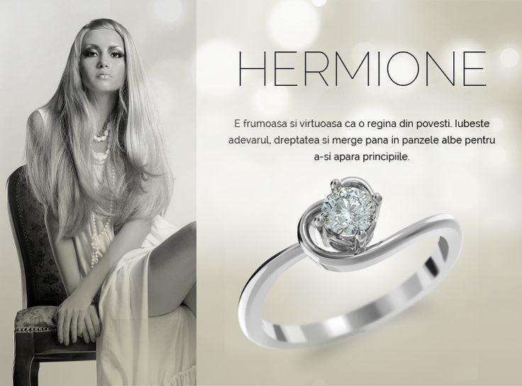 Colectia Hermione  #MadeInRomania #IneleDeLogodna www.coriolan.ro