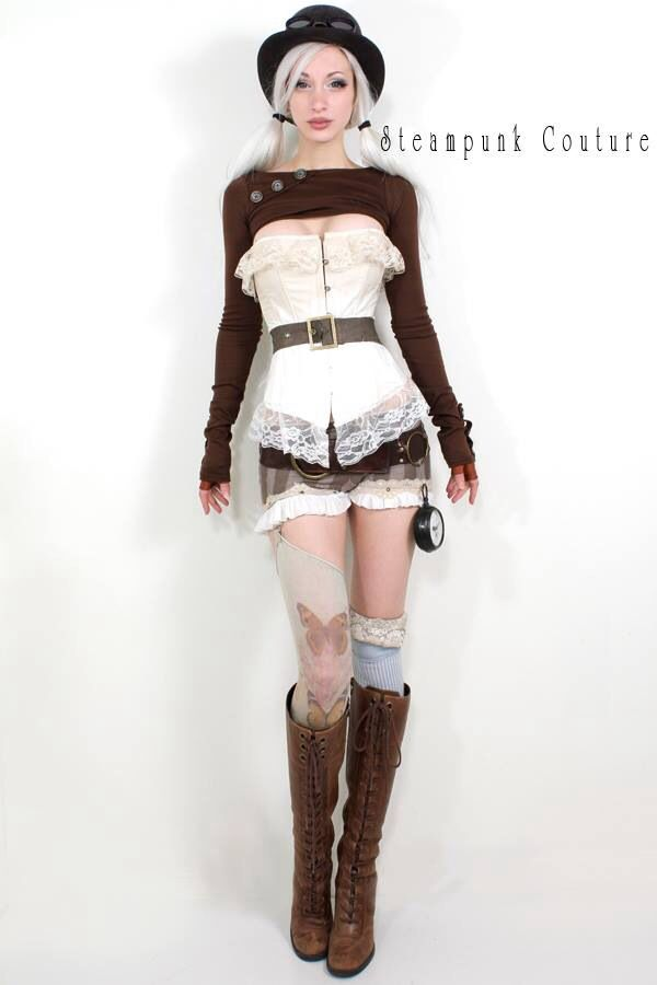 Kato steampunk.   Awww...this outfit is so cute!!  I just LOVE it!!!