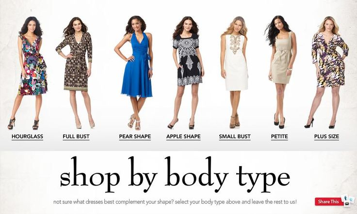 Same dress different body types google search fashion style ladies pinterest shops Fashion style categories list