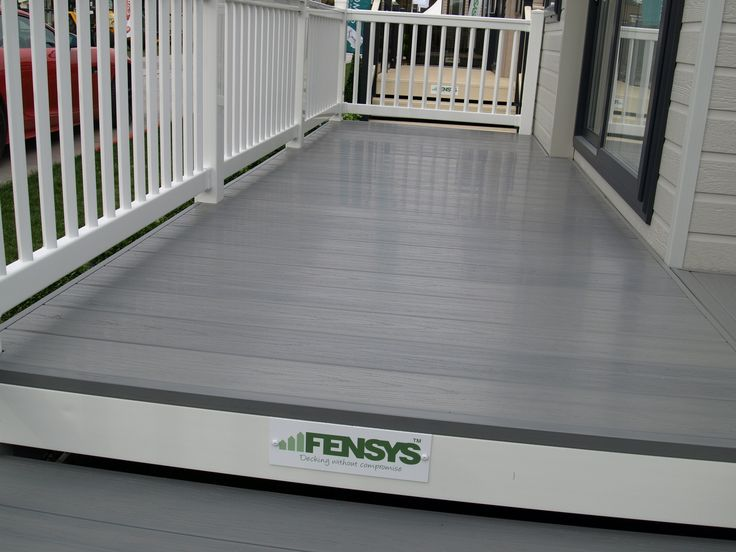 Fensys premium excel driftwood 100% polymer deck board. Modern and slip resistant this board uses multi colour technology to give it natural appearance whilst needing very little maintenance, only the occasional clean.