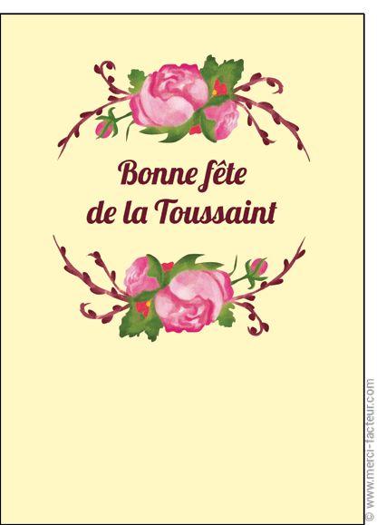 #carte #dessin #photo #squelette #fleurs #toussaint #bouquet #card #calavera #skull #flowers #drawing #allsaints Carte Encadr� de roses pour la Toussaint pour envoyer par La Poste, sur Merci-Facteur !