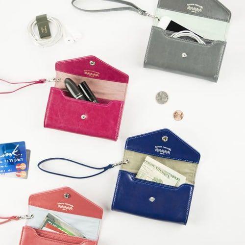 Bonne Nouvelle Leather Card Wallet