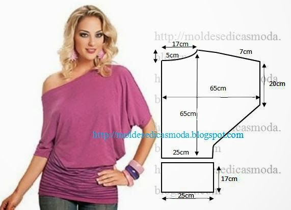 Fashion Templates for Measure: BLOUSE EASY TO DO - 5