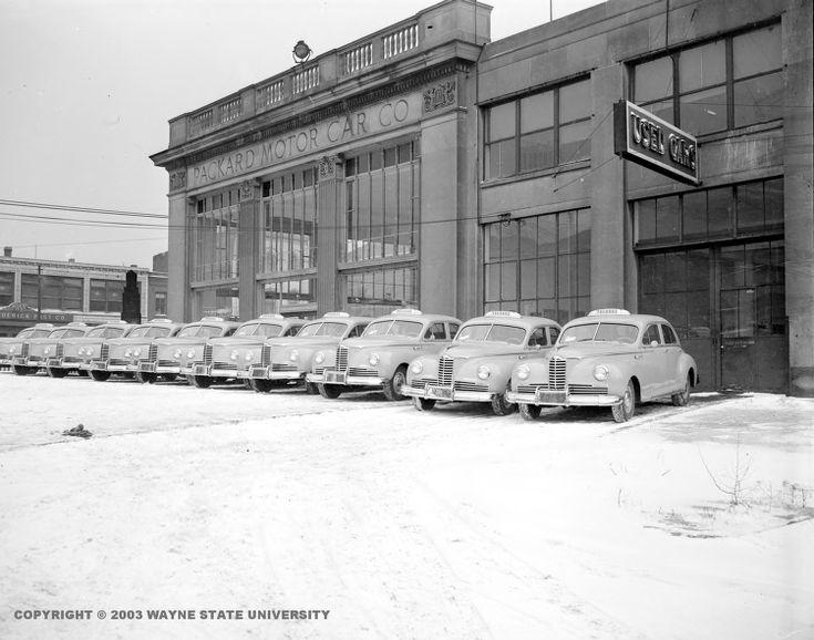 1947 Packard Motor Car Company in DetroitCar dealerships