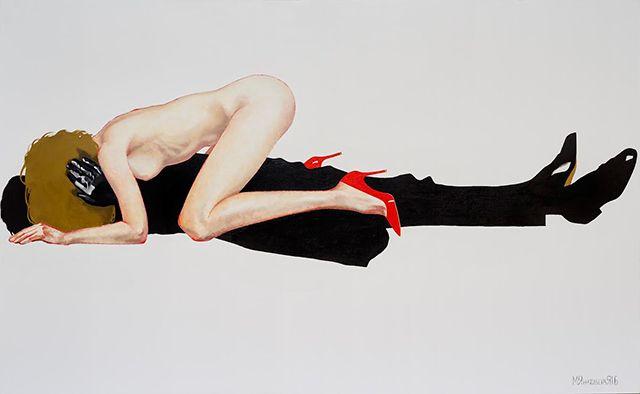 Прохладный эротизм: персональная выставка Маши Янковской (фото 4)