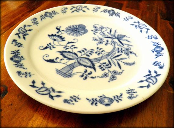1965 Porsgrund Norway 95/8Diameter Ceramic Dinner by EyeScandi, $18.00