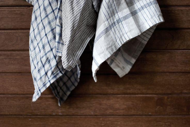 100% Baltic linen   tea towels   www.kamilinen.com