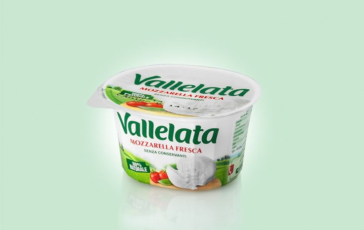 LACTALIS, VALLELATA RESTYLING.  The new visual language is characterised by photography of the landscape where the products are set, a sincere and modern visual expression of a typical Italian landscape on a lovely summer's day.