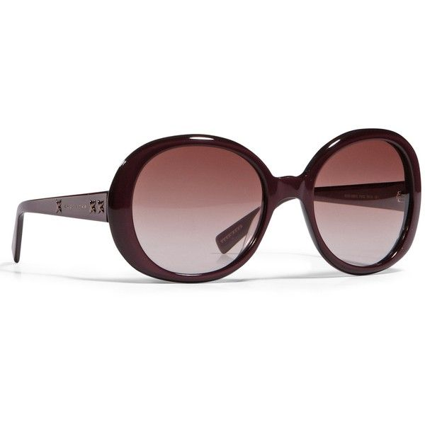 Oversized Women's Sunglasses by BOSS ($210) ❤ liked on Polyvore featuring accessories, eyewear, sunglasses, glasses, oversized round sunglasses, over sized sunglasses, round glasses, oversized glasses and round sunglasses