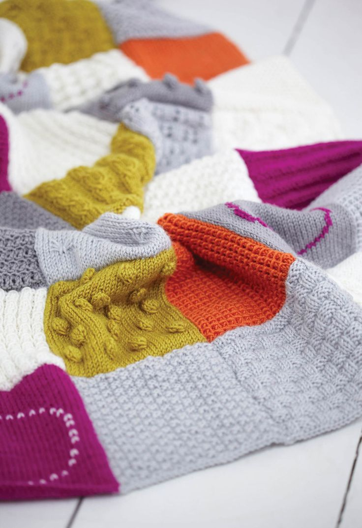 Learn to make this fantastic throw, stitch by stitch and square by square, with Simple Stylish Knitting! po.st/letsgetknitting
