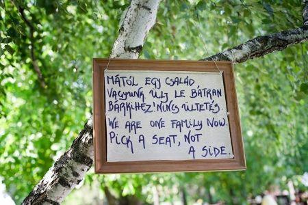 Anna és Ádám levestelen esküvője | Bohém Esküvő