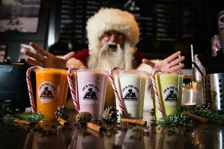 Oh no! Santa messed around in Joe & the Juice! #CPHchristmas13