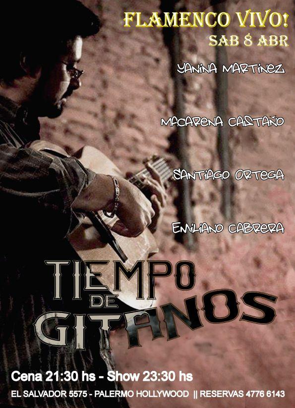 Este Sábado Cena 21:30 hs y el  Show 23:30 hs !!  Te esperamos en El Salvador 5575 - Palermo  Reservas_ 4776 6143