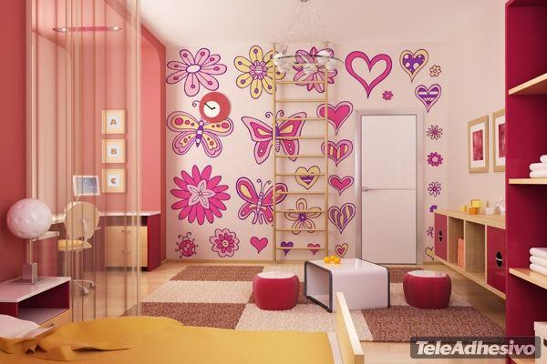 Vinilos De Flores Para Alegrar Tu Casa: 178 Best Images About Vinilos Infantiles On Pinterest