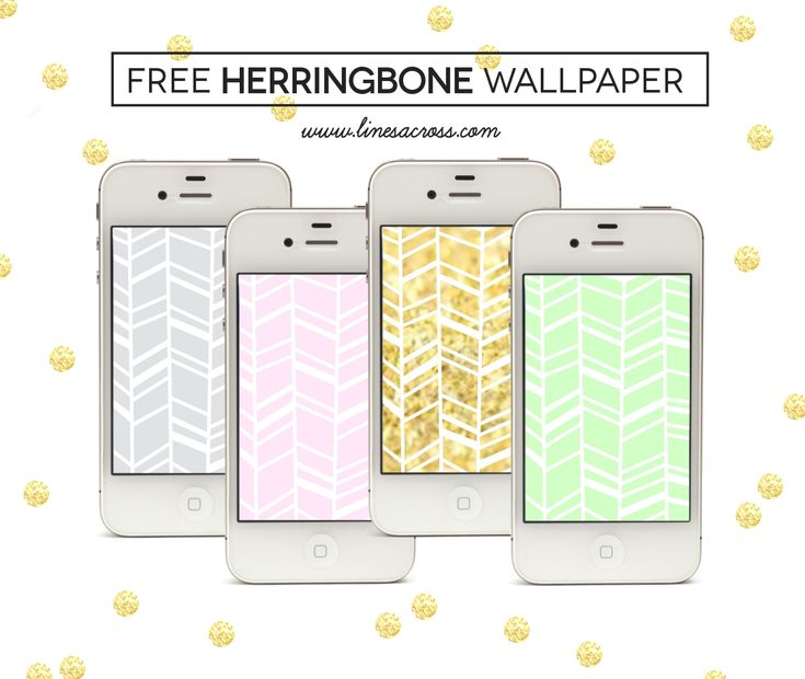 Free Herringbone iPhone Wallpaper - gray, pink, gold, and mint backgrounds for iPhone