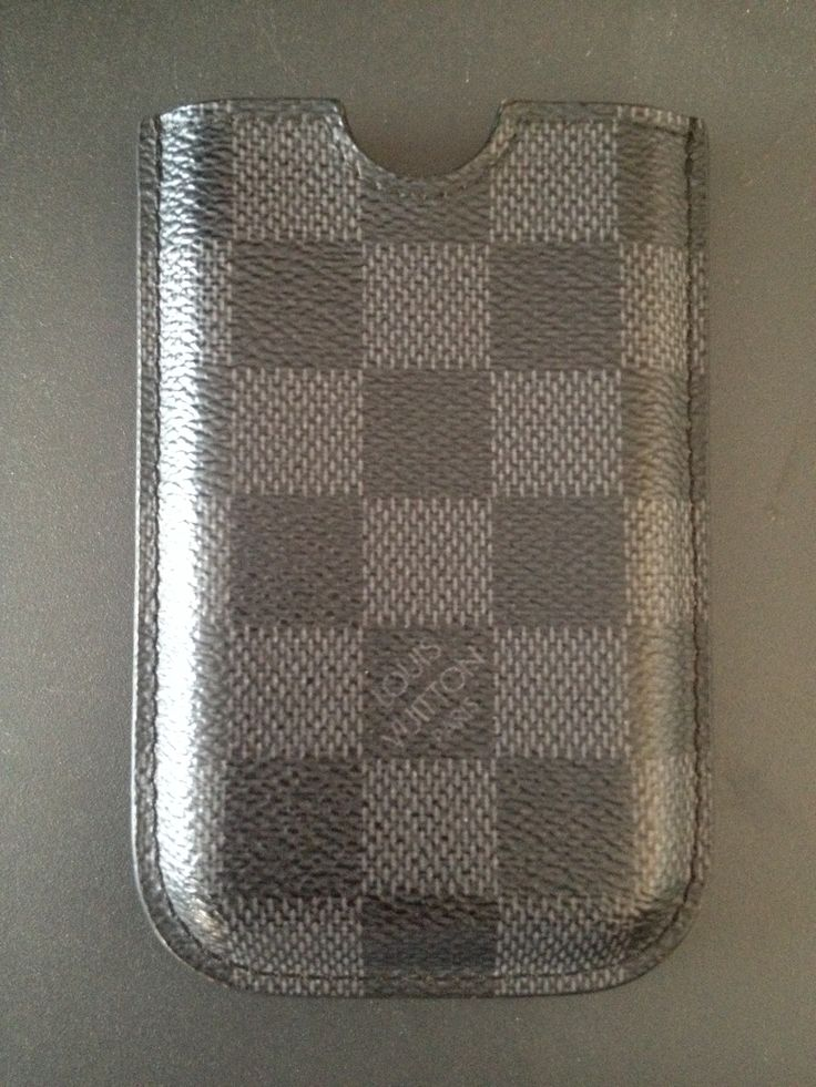 My original Louis Vuitton Damier Graphite iPhone 3G case. A must have for the businessman/woman in your life.