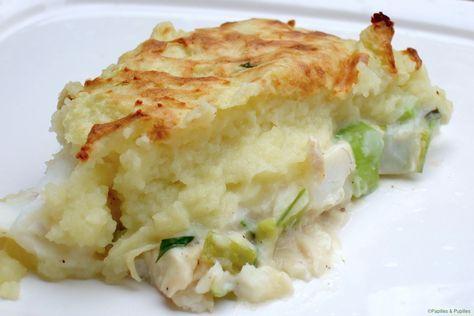 Irish fish pie ou hachis parmentier de poisson à l'irlandaise »