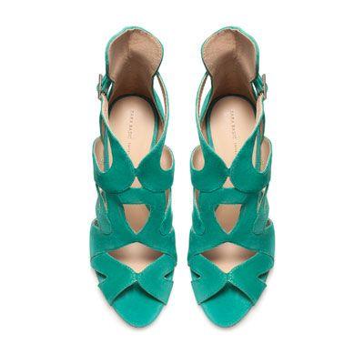 STRAPPY HIGH-HEEL SANDALS - Shoes - Woman - ZARA United Kingdom