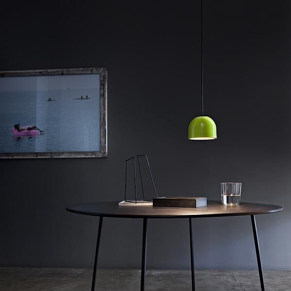 Wan S Green  by Flos #Design #interior  #homedecor #lamp   #blackinterior