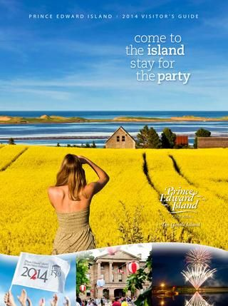 2014 Prince Edward Island Visitors Guide