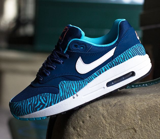 Nike Air Max 1 GS – Brave Blue / Summit White – Black – Summit White