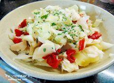 Delicioso timbal de merluza, patatas y pimientos con ali oli de piquillos. Soprenderás en las ocasiones especiales de una manera muy fácil y rápida.