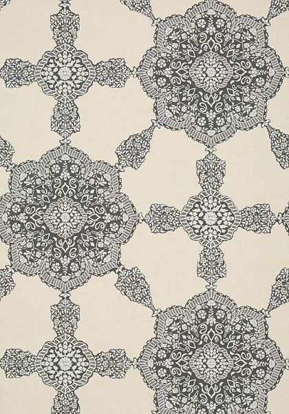 MEDALLION PAISLEY - WC downstairs