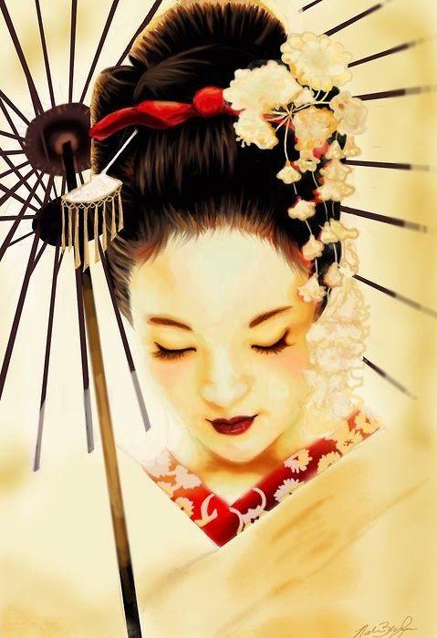 A Cultura Oriental das Gueixas