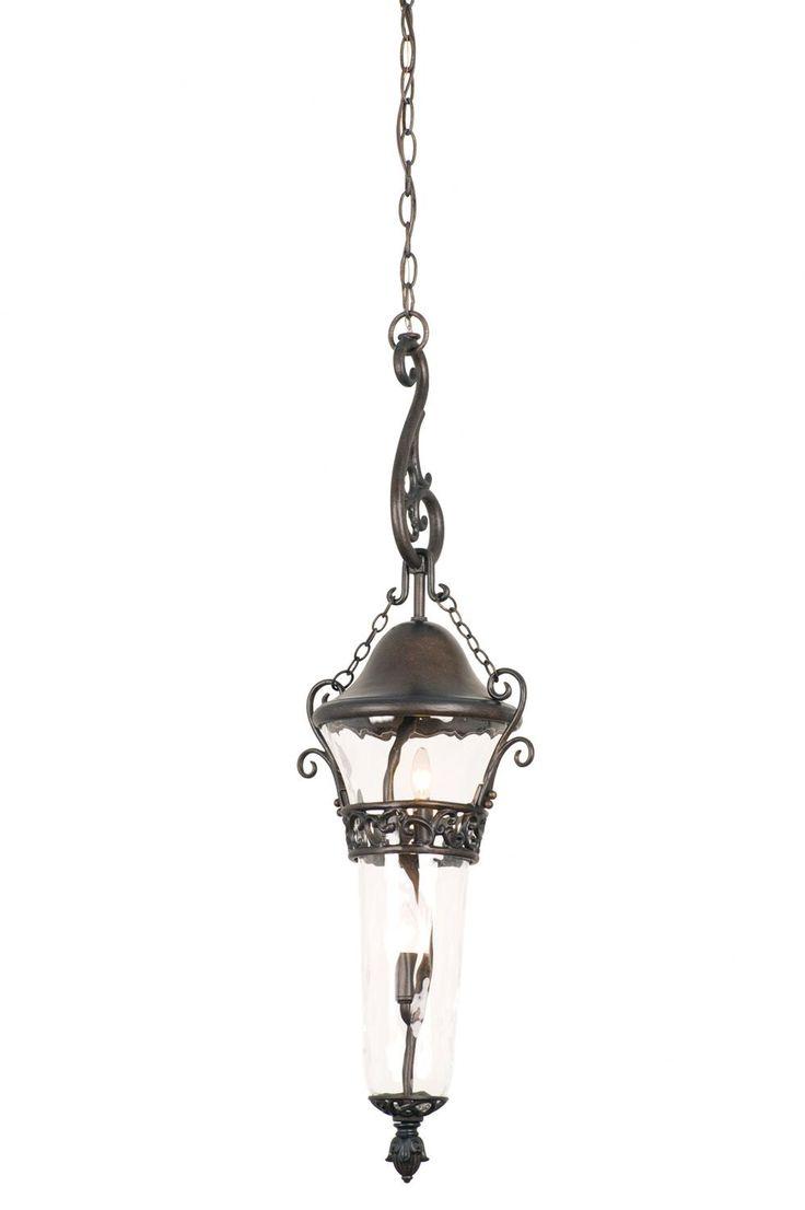Anastasia 2 Light Outdoor Hanging Lantern